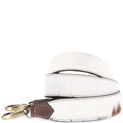 Cow-print shoulder strap