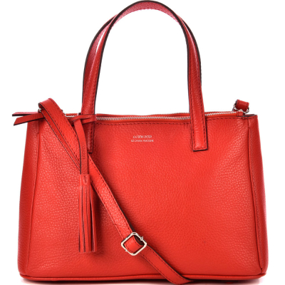 Medium leather MAEVA handbag