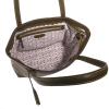 Leather EDEN top-zip shoulder bag