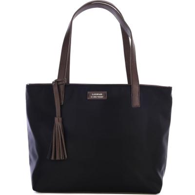 Nylon EDEN top-zip shoulder bag