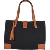 VICTORIA - Canvas & Leather Bag