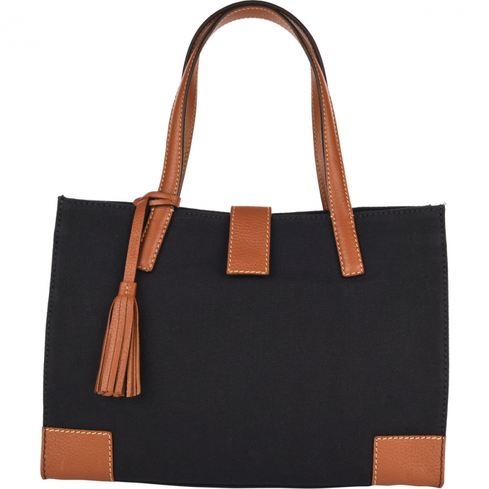 VICTORIA - Canvas & Leather Bag