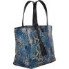 Small printed leather PARISIAN tote bag