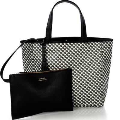 Medium coated canvas PARISIAN tote bag