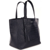 Small croc leather PARISIAN tote bag