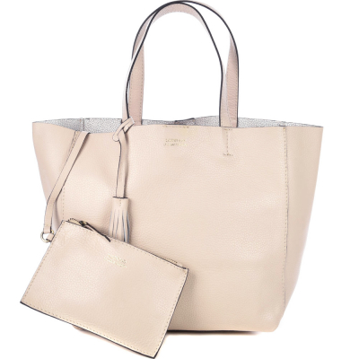 Medium soft leather PARISIAN tote bag