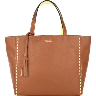 Medium leather PARISIAN tote bag ZULU