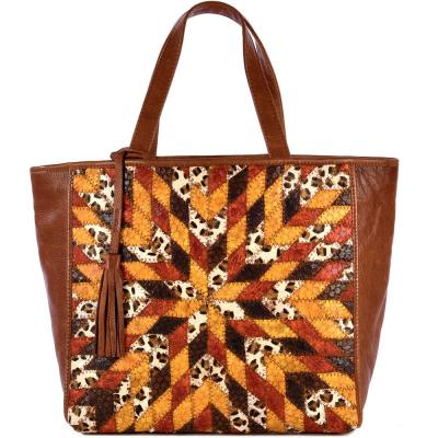 Medium leather PARISIAN tote bag Patchwork