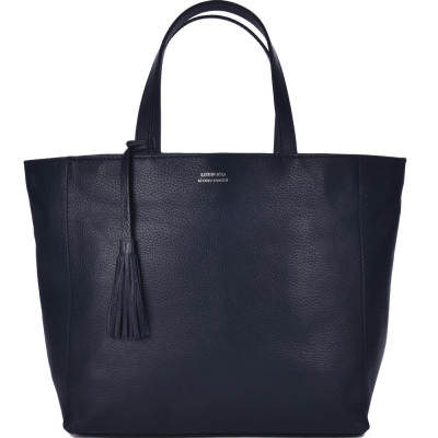 Large leather PARISIAN tote bag