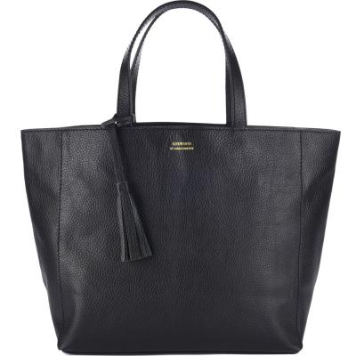 Large leather PARISIAN tote bag