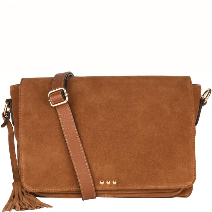CARLEE - Shoulder bag Velvet leather