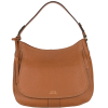 OPERA - Large coarse grain leather bag