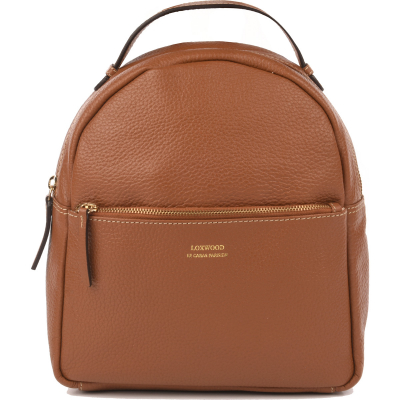Leather backpack FLORE