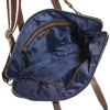 Vegan nylon cross-body satchel