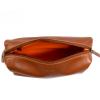 Trousse de toilette en cuir