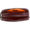 DOUBLE-ZIP TOILETRY BAG - Smooth leather