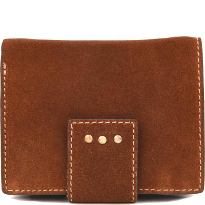 Petit portefeuille dos à dos en velours