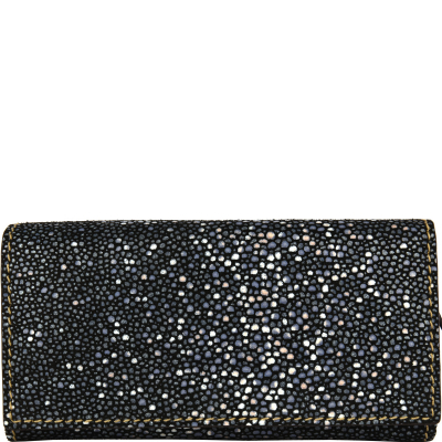 Leather wallet with a flap Stingray Style