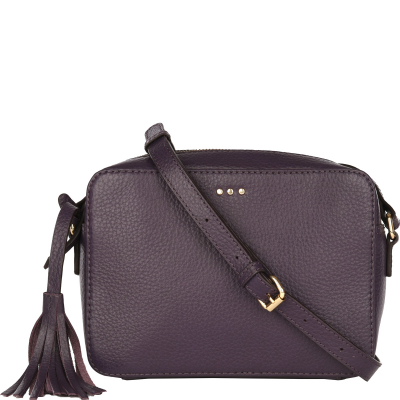 CAMERA BAG - Sac bandoulière en cuir
