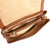 Scalloped studded MARCEAU BAG - Glossy Nappa