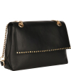 Scalloped studded COURCELLES BAG - Glossy Nappa