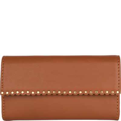 NAPPA LEATHER WALLET WITH FLAP