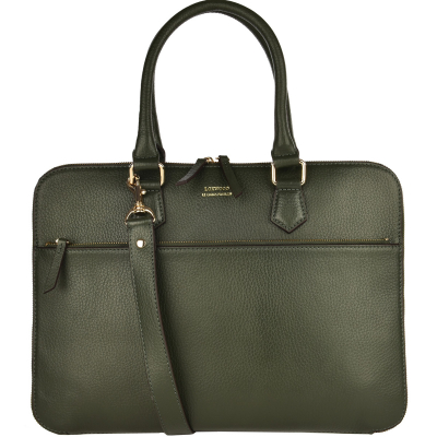 BRIEFCASE - Grain leather