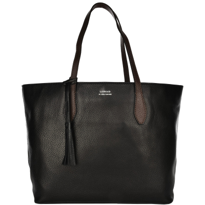 SHOPPER - Grain leather