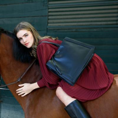 BASTILLE - Vegetable leather tote bag