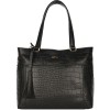 ABESSES - Zipped leather shoulder bag
