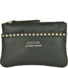 SMALL STUDDED ZIPPED PURSE - Glossy Nappa