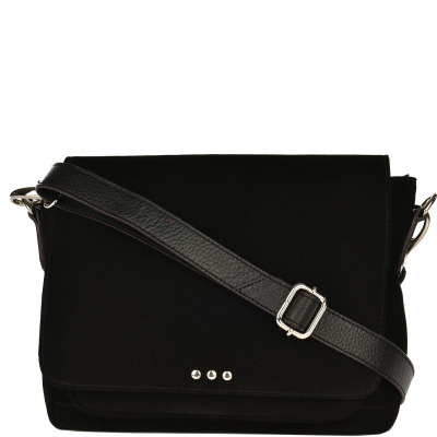 NEW CARLEE - Small suede leather cross-body bag