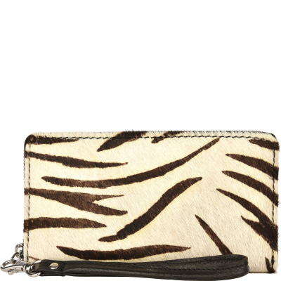 ZIP AROUND WALLET - Cowhide