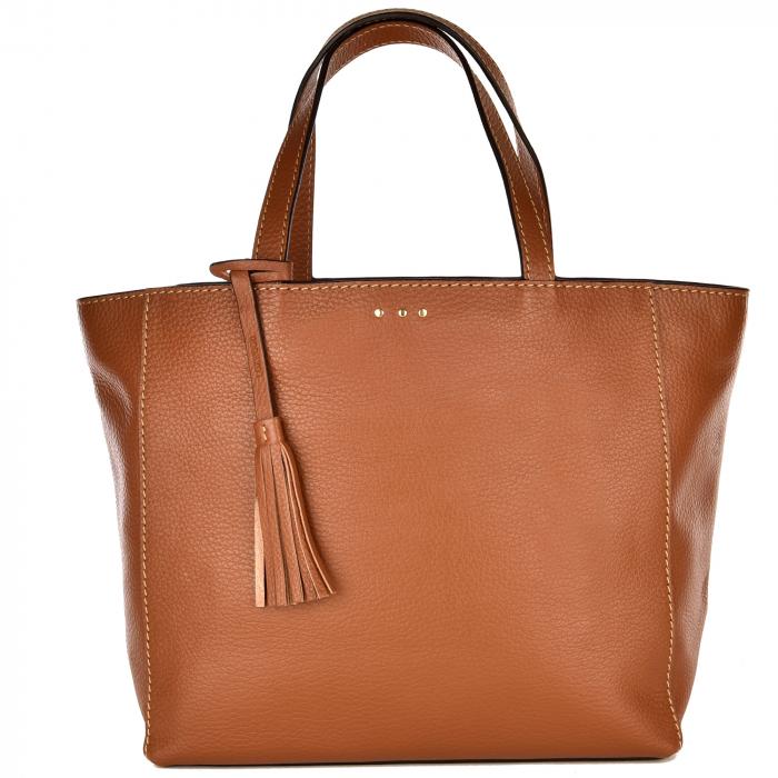 Medium PARISIAN tote bag - Grain leather