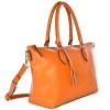 NEW PAMINA - Grained leather shoulder bag