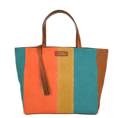 Medium PARISIAN tote bag - Suede leather
