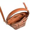 MONCEAU - Saddle leather bucket bag