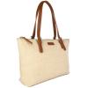 HONORÉ - Leather and canvas shoulder bag