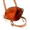 NANOU - Sac medium porté épaule toile naturelle & cuir
