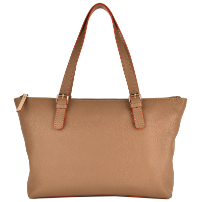 Two-tone HONORÉ BAG - Adjustable handles