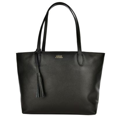 NEW EDEN - Leather top-zip shoulder bag