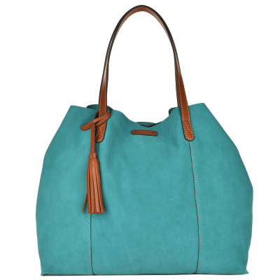 ODEON - Soft suede tote bag