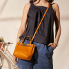 BABY NANOU - Mini sac en cuir grainé