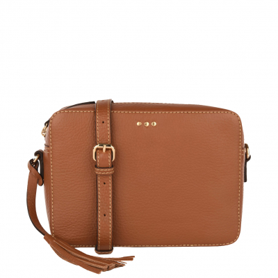 CAMERA BAG - Grained leather cross-body
