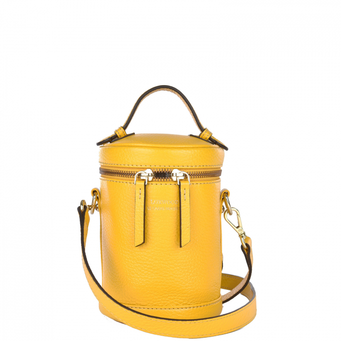 COLETTE - Small grained leather bag