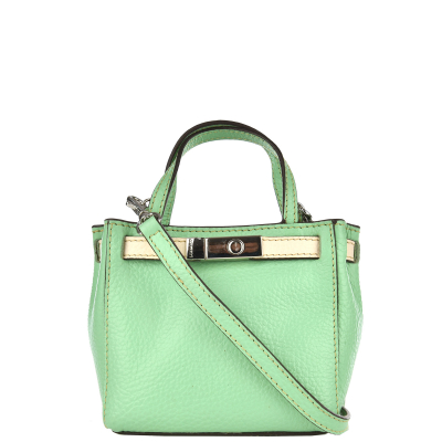 BABY NANOU - Mini grained leather bag