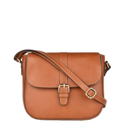 MILLY - Leather saddlebag