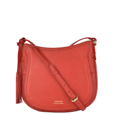 CONCORDE - Grained leather Crossbody bag