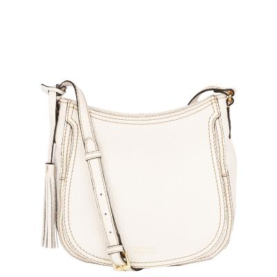 CONCORDE - Coarse grain leather Crossover bag
