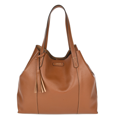 ODEON - Soft grained tote bag